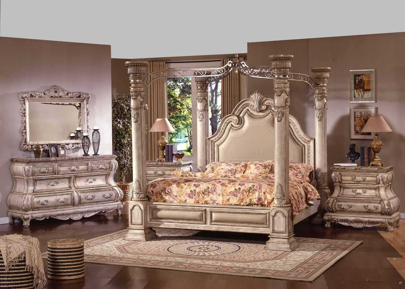 Romantic Victorian Bedrooms The elegant design of French Fur